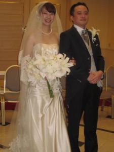 友人の結婚式に行ってきましたぁ~っ!!