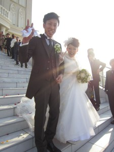 2週連続、結婚式。幸せいっぱい頂きましたぁ!!