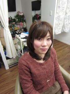 ミディアム イメチェンパーマ☆もてスタイル