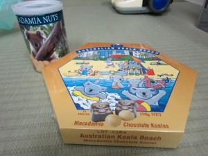 オーストラリアのお土産いただきましたぁ!!