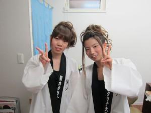 2年連続松山祭りアップセット 仲良しコンビ♪