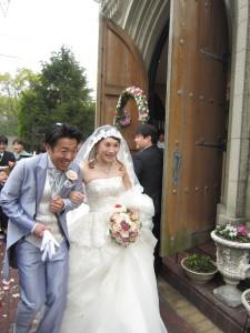 3月の思い出「松山での結婚式」