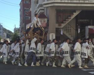 男☆秋祭り